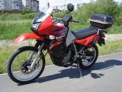 Kawasaki KLR 650. 650куб. см., исправен, птс, с пробегом