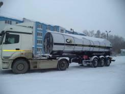 GT7 ППЦТУ-25. Цистерна для углекислоты GT7 Ппцту-25 (ЦЖУ-25), 24 365кг.