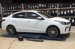 Реплика Vossen CVT 8.0xR18 4x100 ET45 D60.1 на Hyundai Solaris, KIA RIO