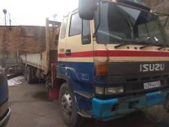 Isuzu Giga. Продам грузовой авто с манипулятором Isuzu Unic 500 во Владивостоке, 17 000куб. см., 10 000кг., 8x2