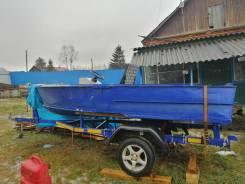 МКМ. длина 4,10м., двигатель без двигателя, 20,00л.с.