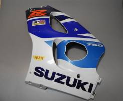 Пластик передний боковой левый Suzuki GSX-R 750 94481-33E00