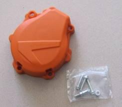 Защита крышки зажигания Polisport EXC-F/XCF-W 450 17-19 оранжевая 8467000002