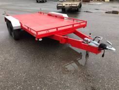 Автомобильный легковой прицеп для перевозки спецтехники от 1 до 3 тонн