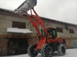 Уборка снега погрузчиком Академ