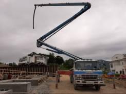 Услуги бетононасоса (швинг) 32 метра