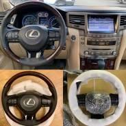 Подушка безопасности водителя. Lexus LX570, URJ201, URJ201W 3URFE