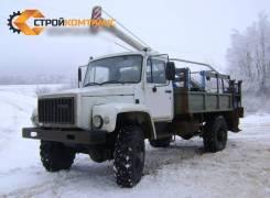 ГАЗ 3308 Садко. Бурильно-крановая машина БКМ-317-01 на шасси ГАЗ-33088 Садко, 4 430куб. см., 5 000кг.