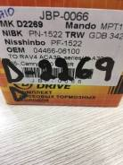 Тормозные колодки JUST Drive JBP0066 D2269 PF-1522