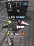 """Лампа светодиодная """"TG"""" Headlight T3 H11/H8/H16, 6000K Гарантия 12мес"""