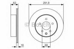 Диск тормозной задний premium2 Bosch 0986479S31