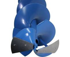 Шнек к мотобуру для льда DDE SiceA-200/800, D-200 мм, L-800 мм.