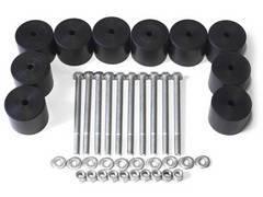 Бодилифт набор УАЗ 452 и подобные 60/10, черные 4x4sport [BodyUAZ4526010BL]