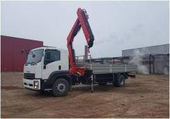 Fassi F155A2. КМУ 6,2 тонн Fassi F155A.0.22 на шасси Isuzu Forward 18 тонн Евро-5, 8 000куб. см., 8 000кг., 4x2