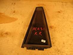 Стекло двери задней правой (форточка) Toyota RAV 4 2006-2013 ACA36, AC
