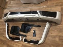 Обвес TRD Toyota Land cruiser 200 2015-2020 Белый перл (TOMY)