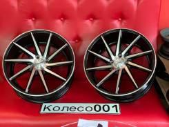 Новые литые диски Vossen cvt 561 17 4*100 bfp разнонаправленые