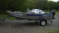 Windboat. 2011 год, длина 4,65м., двигатель стационарный, 30,00л.с., бензин