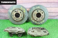 Суппорта + диски перед. (комплект) Nissan Fairlady GSZ32 [Turboparts]