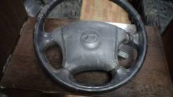 Подушка безопасности водителя. Hyundai Elantra, XD, XD2 D4EA, G4ED, G4GC, G4GF, G4GR