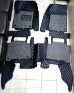 3D Коврики салона левый руль Nissan Patrol Y62, QX56, QX80, черные