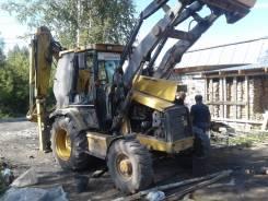 Caterpillar. Продам экскаватор погрузчик 428d в Томске, 1,10куб. м.