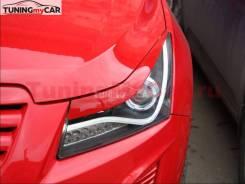 Реснички на фары для Chevrolet Cruze 2009-2015