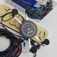 Держатель для телефона с беспроводным зарядным устройством QC3.0