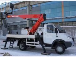 ГАЗ ГАЗель Бизнес. Автовышка Socage T 315 (Италия) 15 метров на шасси ГАЗель Бизнес, 15,00м.