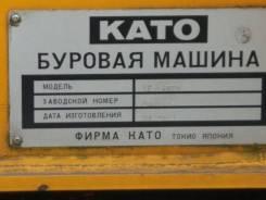 Kato. Гидравлическая буровая машина на гусеничном ходу KATO KE-1500III CITY, 4 500куб. см.