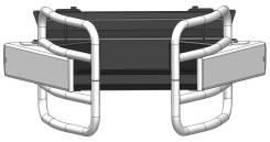 Захват для рулонов для телескопических погрузчиков