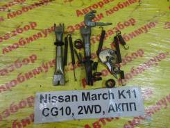 Пружина прижимная тормозной колодки Nissan March K11 Nissan March K11
