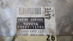 Блок управления EFI Toyota 4AFE 89661 - 1E260