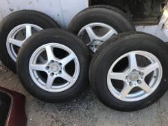 """Комплект летних колёс на литье 175 80 15 Б/П по РФ Yokohama 175/80 R. 5.5x15"""" 5x114.30 ET41 ЦО 72,0мм."""