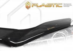 Дефлектор капота Classic черный Changan CS35 plus 2019-н. в. (изготовление) Plastics 1479