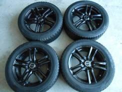 """Колёса: шины 205/55R16, литье R16x6.5J 4x100. 6.5x16"""" 4x100.00 ET43 ЦО 72,0мм."""