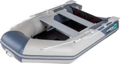 Моторно-гребная лодка ПВХ Gladiator A280ТК с фанерным дном