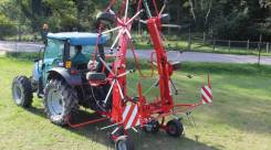 Вспушиватель (7.45 метра) Enorossi Vortex G6V 740 PTH прицепной
