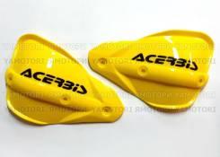 Запасные Лопухи (отдельно) на защиту рук Acerbis жёлтые