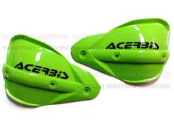 Запасные Лопухи (отдельно) на защиту рук Acerbis зелёные