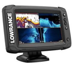 Эхолот-картплоттер Lowrance Elite-7 Ti2 с датчиком Active Imaging 3in1