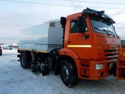 КамАЗ 53605. Подметательно-уборочная машина Ustun-EL 6м3 на базе Камаз 53605, 6 700куб. см.