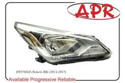 Фара R Hyundai Solaris 14- APR арт. 1603RB13