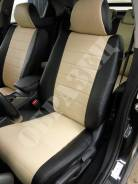 """Модельные чехлы эко-кожа """"полоска"""" на автомобили Subaru (Субару)"""