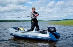 Лодка надувная ПВХ Флагман 320L (облегченная) под мотор, НДНД, Новая