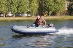 Лодка надувная ПВХ Флагман 330U под мотор, НДНД, Новая