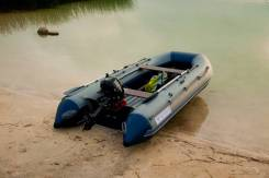Лодка надувная ПВХ Флагман 380L (облегченная) , НДНД, Новая
