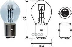 Лампочка 25/25w 12v Ba20d - Мото/Скутер MAGNETI MARELLI арт. 002588100000