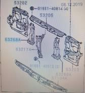 Рамка радиатора на Toyota Land Cruiser 80