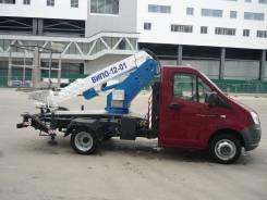 ГАЗ ГАЗель Next. Автоподъемник ВИПО-12 на шасси Газель Next автогидроподъемник АГП, 2 700куб. см., 12,00м.
